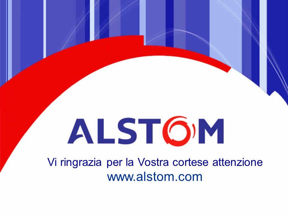 Vi ringrazia per la Vostra cortese attenzione www.alstom.com