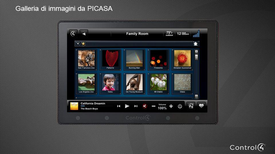 Galleria di immagini da PICASA