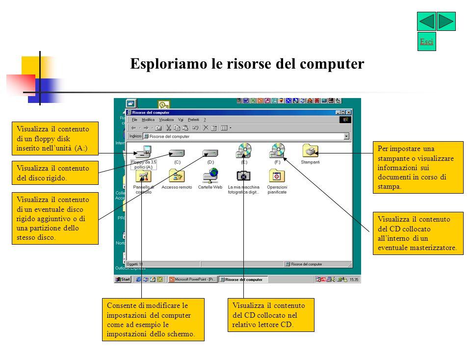 Se hai la necessità di avere la copia di un floppy disk, fai così: clicca su Risorse del Computer; clicca su Floppy da 3,5 pollici (A:) con il destro del mouse; clicca su Copia disco; Duplichiamo un dischetto.