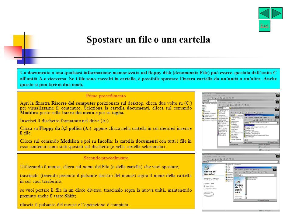 Gestire le cartelle (Directory) Creare una nuova cartella Ci sono due modi semplici, per creare una nuova cartella con Windows.