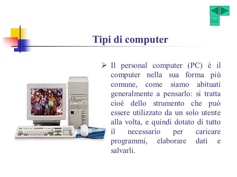 Software è linsieme di tutti i programmi che si usano in un computer, cioè le istruzioni che gli consentono di funzionare e di svolgere il proprio lav