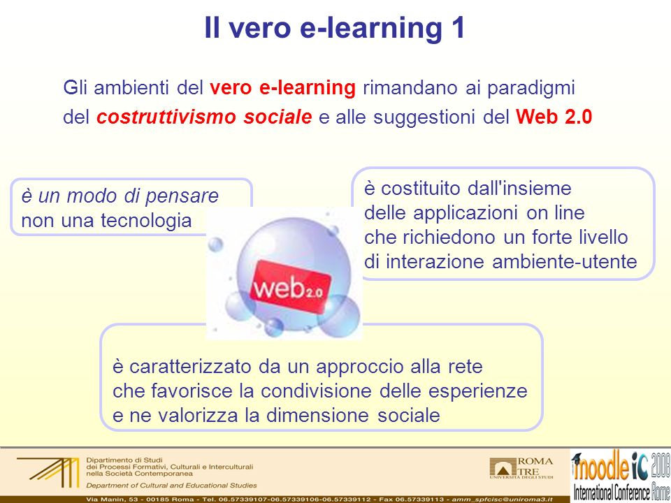 Il vero e-learning 2 When we post and then tag pictures, we are teaching the machine.