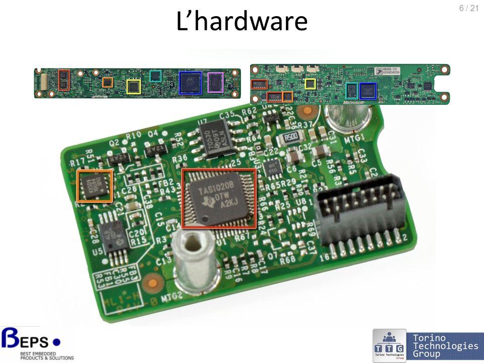 Lhardware http://www.ifixit.com/Teardown/Microsoft-Kinect-Teardown/4066 6 / 21