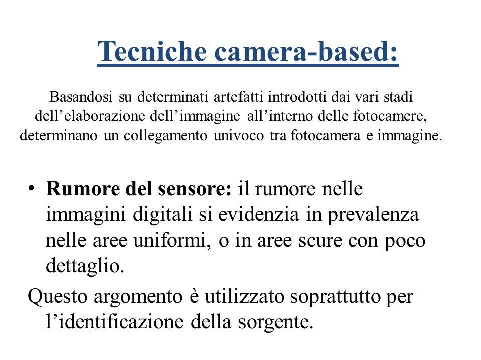 Rumore del sensore: il rumore nelle immagini digitali si evidenzia in prevalenza nelle aree uniformi, o in aree scure con poco dettaglio. Questo argom