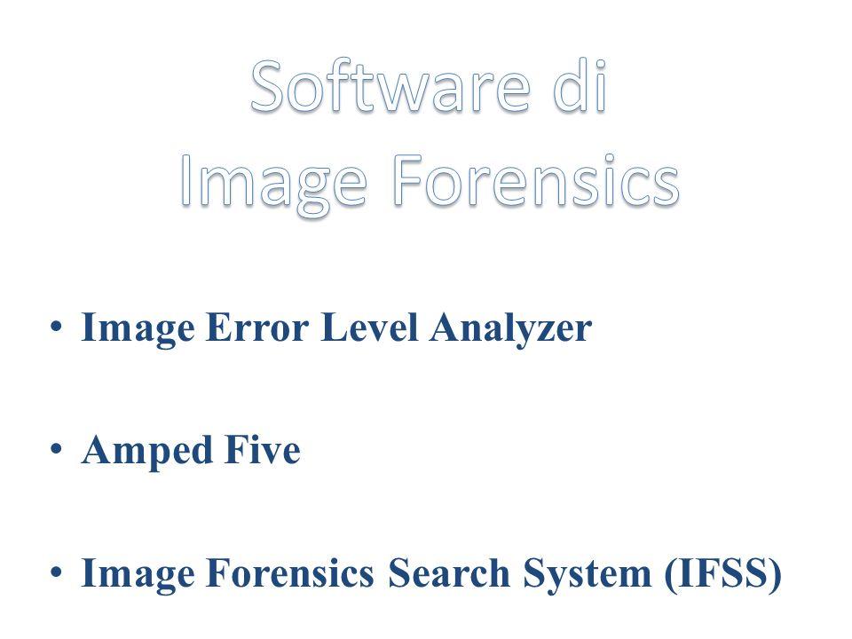 Funzionamento: 1) Viene richiesto di indicare limmagine target e il tipo di ricerca.