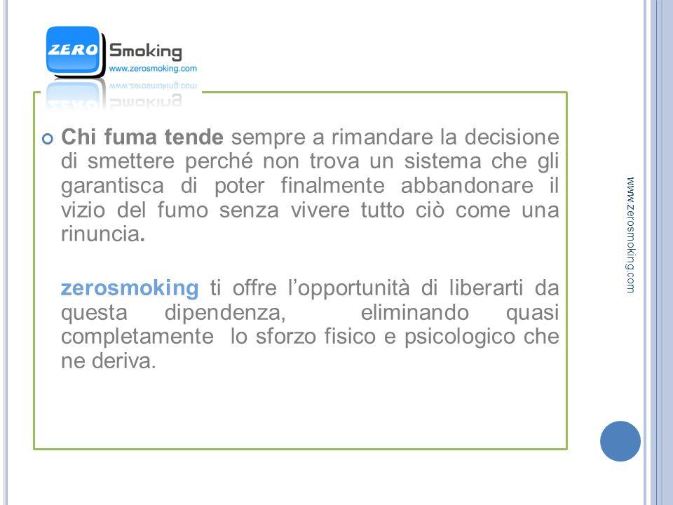 SODDISFAZIONE INDOTTA www.zerosmoking.com