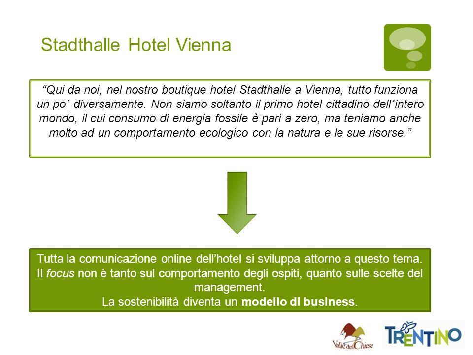 Stadthalle Hotel Vienna Qui da noi, nel nostro boutique hotel Stadthalle a Vienna, tutto funziona un po´ diversamente.