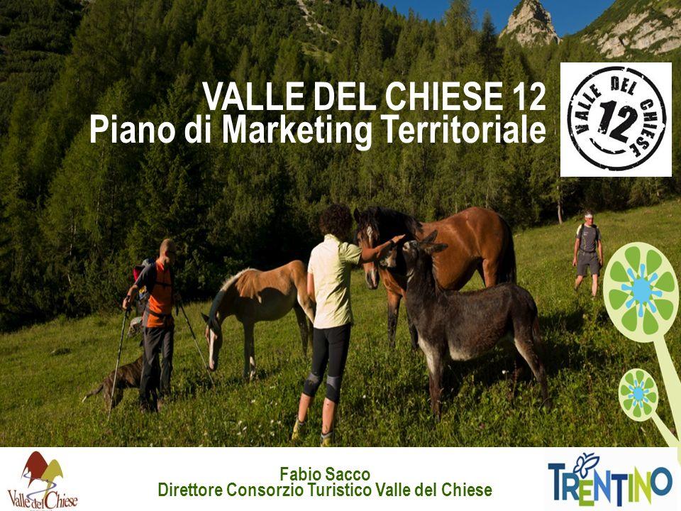 VALLE DEL CHIESE 12 Piano di Marketing Territoriale Fabio Sacco Direttore Consorzio Turistico Valle del Chiese