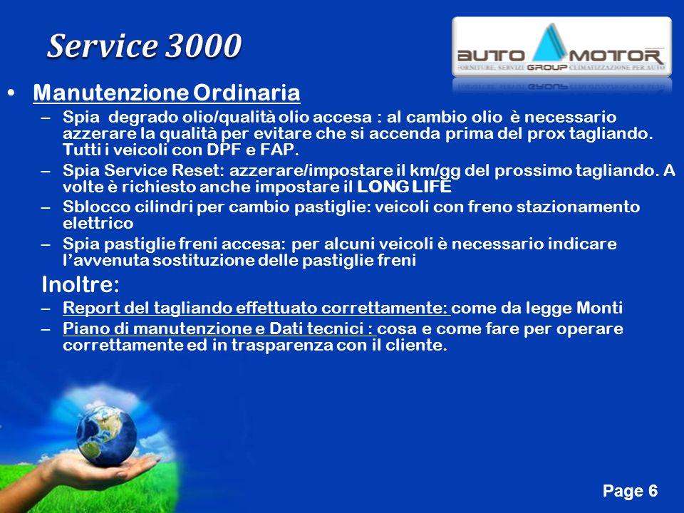 Free Powerpoint Templates Page 17 Manutenzione Straordinaria Riavvio A/C Check motore Check sostituzione batteria