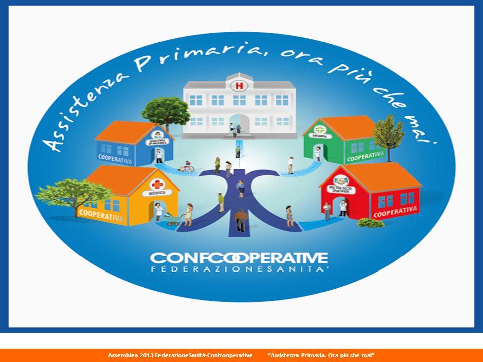 Assemblea 2013 FederazioneSanità-Confcooperative Assistenza Primaria. Ora più che mai