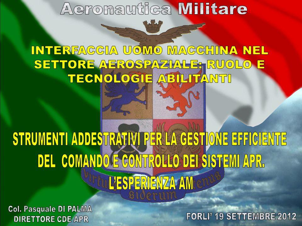 Introduzione ai sistemi APR; Predator, Reaper e mini APR: Laddestramento In Am; Sviluppi futuri nel settore APR e HMI; Considerazioni Finali.