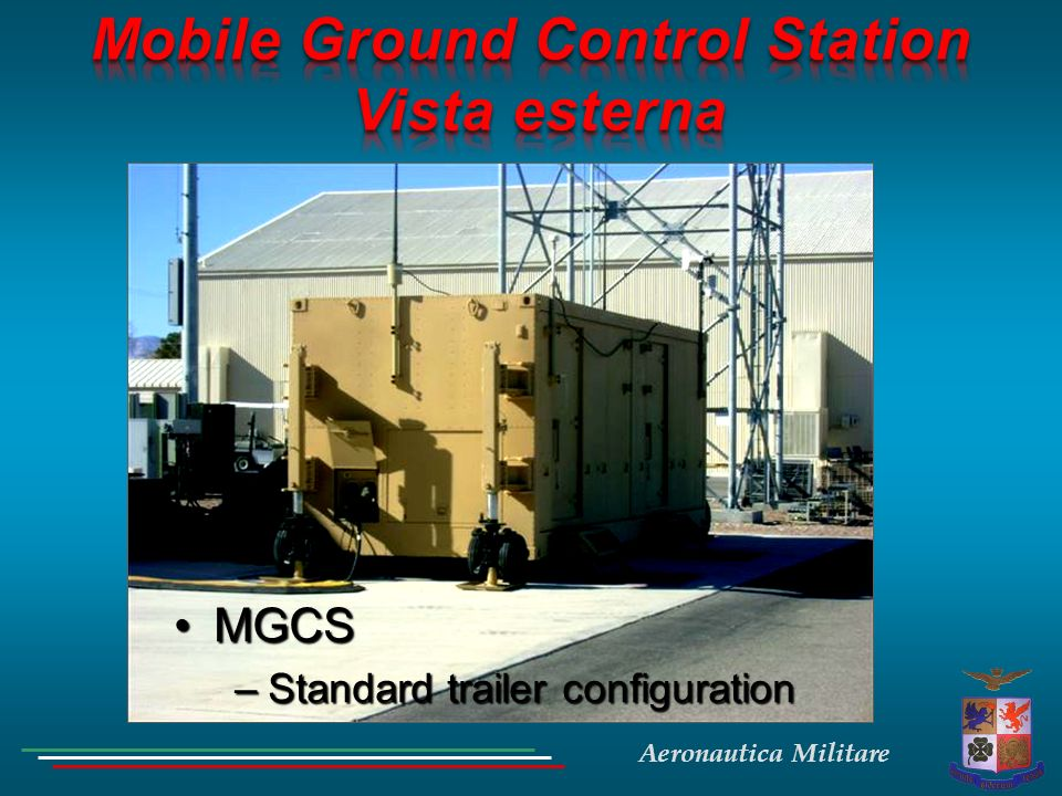 Aeronautica Militare MGCSMGCS –Standard trailer configuration