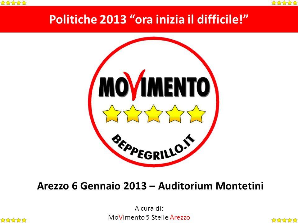 Politiche 2013 ora inizia il difficile.Oltre alle informazioni previste dalle leggi n.