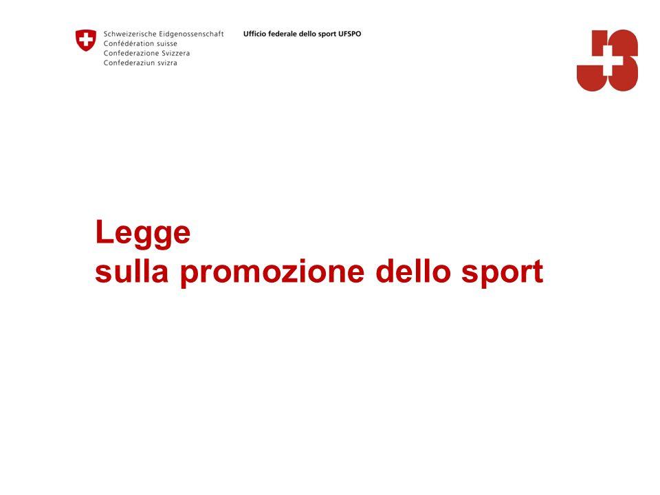 Legge sulla promozione dello sport