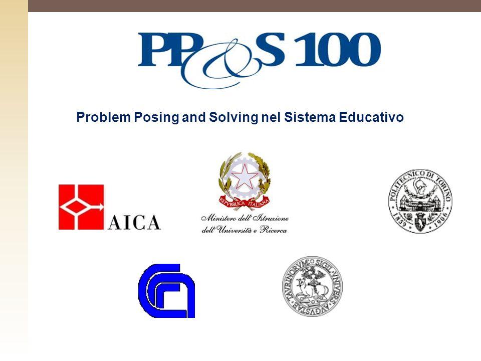 Problem Posing and Solving nel Sistema Educativo