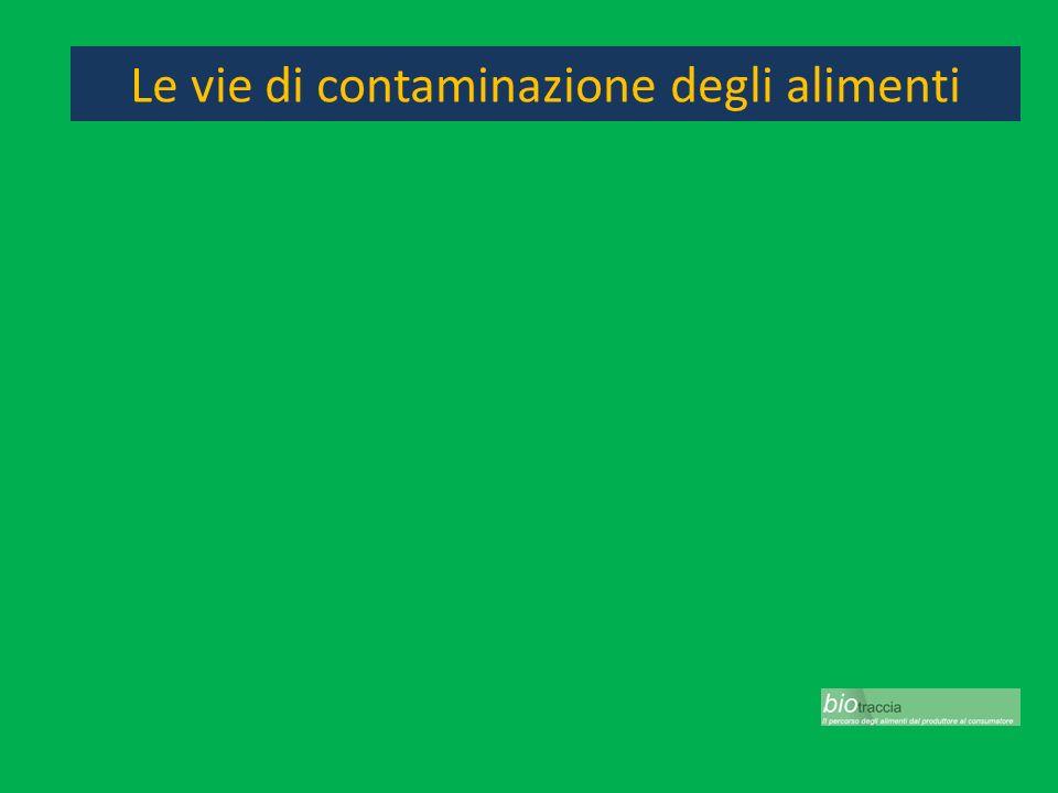 Le vie di contaminazione degli alimenti