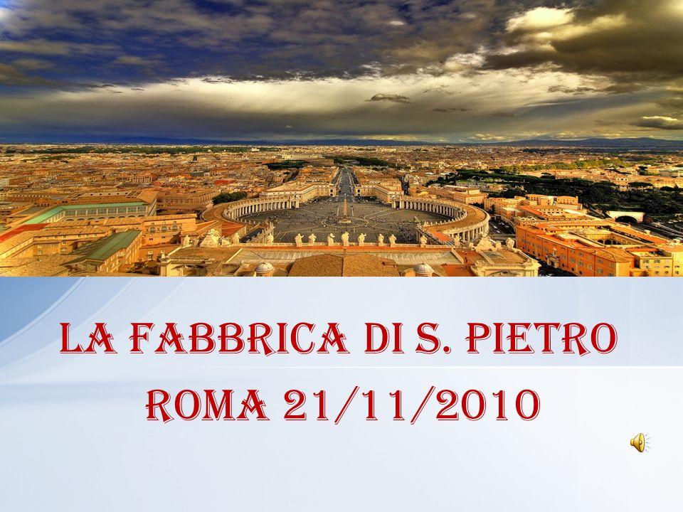 1) Dalla sigla impressa sul materiale da utilizzare per la fabbrica di San Pietro.