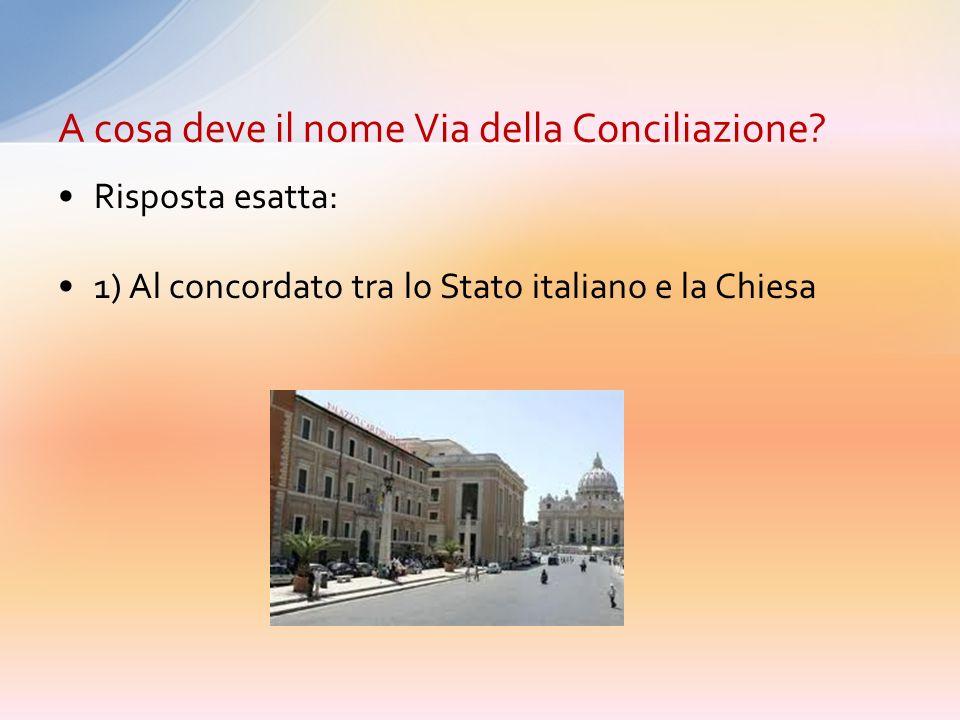 1) Al concordato tra lo Stato italiano e la Chiesa 2) Alla Pace e alla Conciliazione dei Popoli 3) Al concilio Vaticano I 4) Al concilio tra Clemente