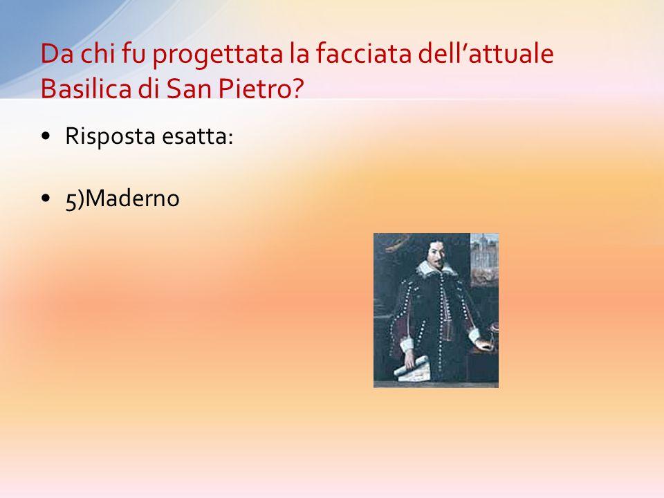Risposta esatta: 2) Le reliquie della Santa Croce