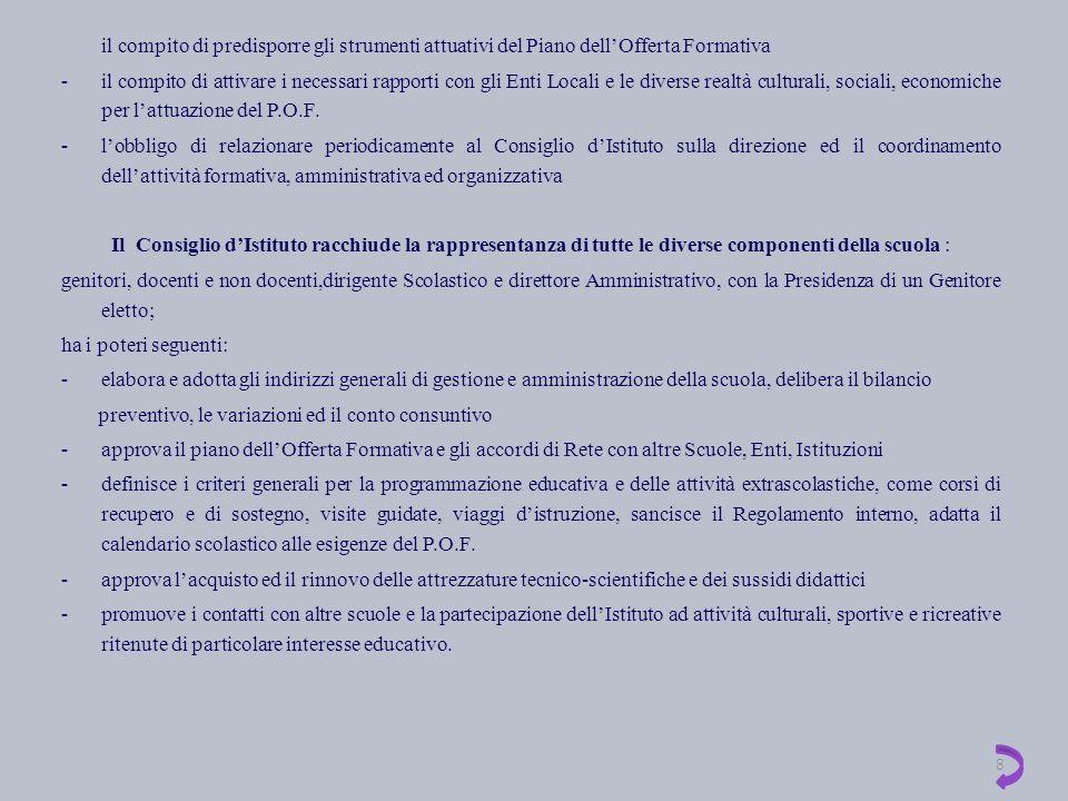 PROGRAMMAZIONE EDUCATIVA - DIDATTICA PER ALUNNI DIVERSAMENTE ABILI La S.M.S.