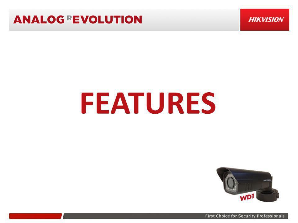 ICR (Infrared Cut filter Removal) Telecamera ConvenzionaleDS-2CC11A5P-VFIR/IT Hikvision 1/3 SONY EXView HAD CCD II Progressive Scan Day&Night Meccanico 650TVL Colore 700TVL B&N PERCHE UN IMMAGINE DI QUALITA NON ACCETTA NESSUN COMPROMESSO…
