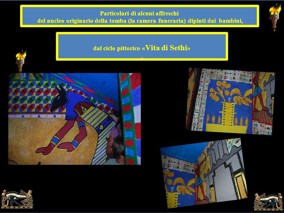5 Nel sotterraneo della Scuola Banditella è stata realizzata a dimensione umana la tomba di un faraone -visitabile «con torce e caschetto»- prendendo