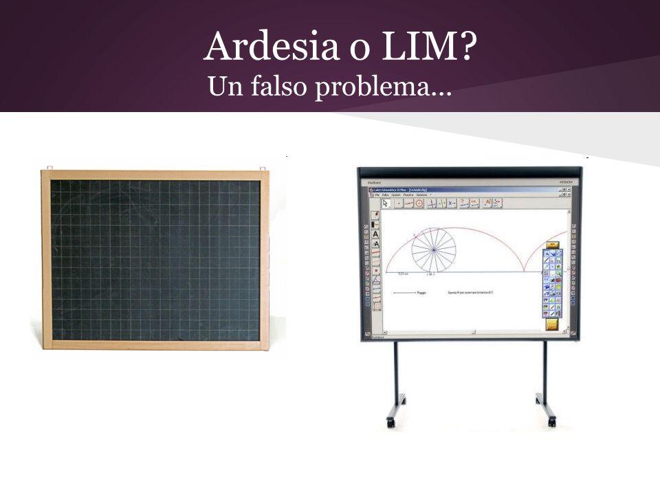 Un modello didattico problematico per luso della LIM