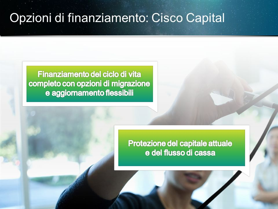 © 2013 Cisco e/o i relativi affiliati. Tutti i diritti sono riservati.