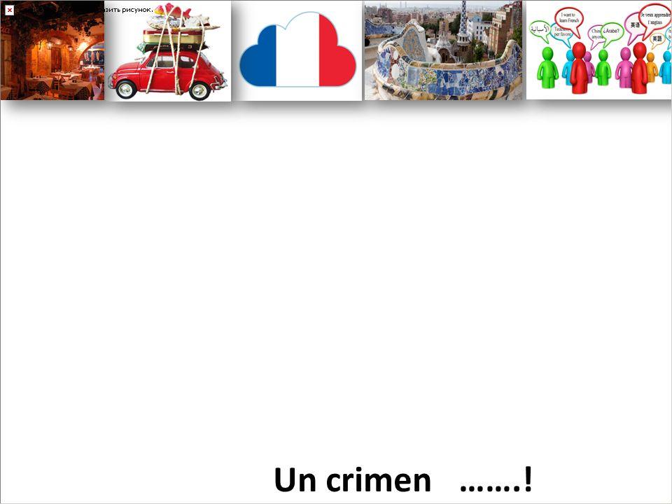 Un crimen …….!