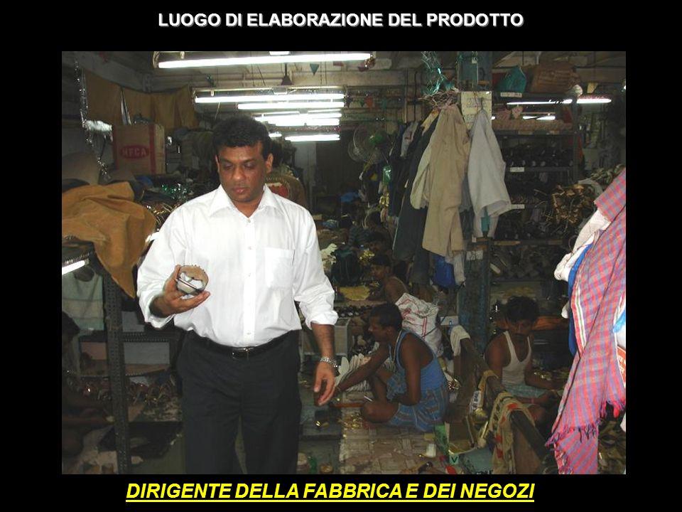 DIRIGENTE DELLA FABBRICA E DEI NEGOZI