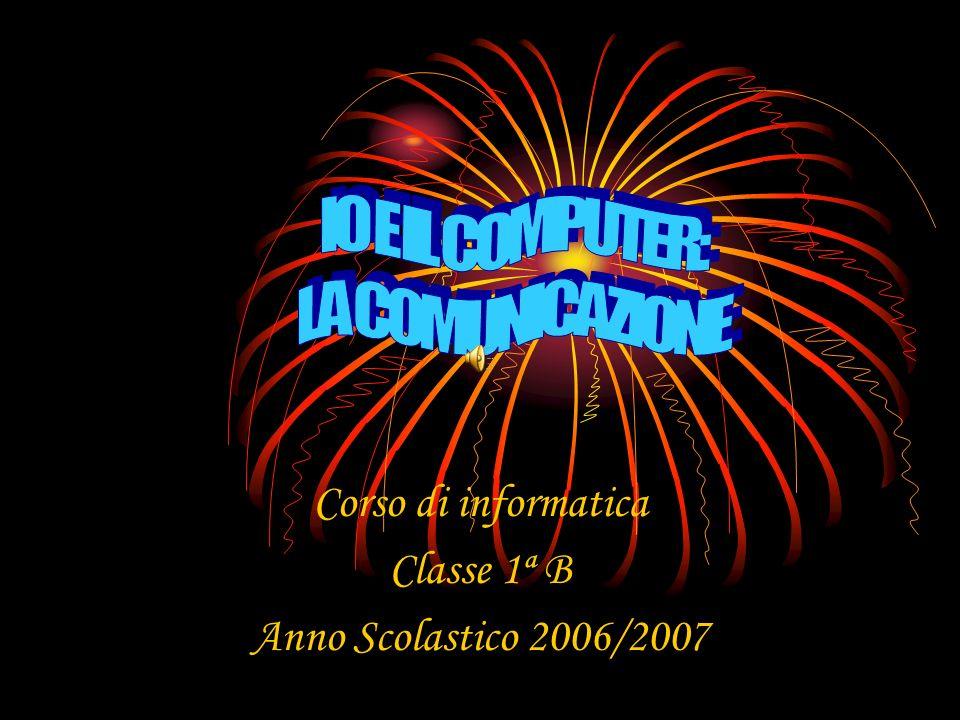 Corso di informatica Classe 1ª B Anno Scolastico 2006/2007