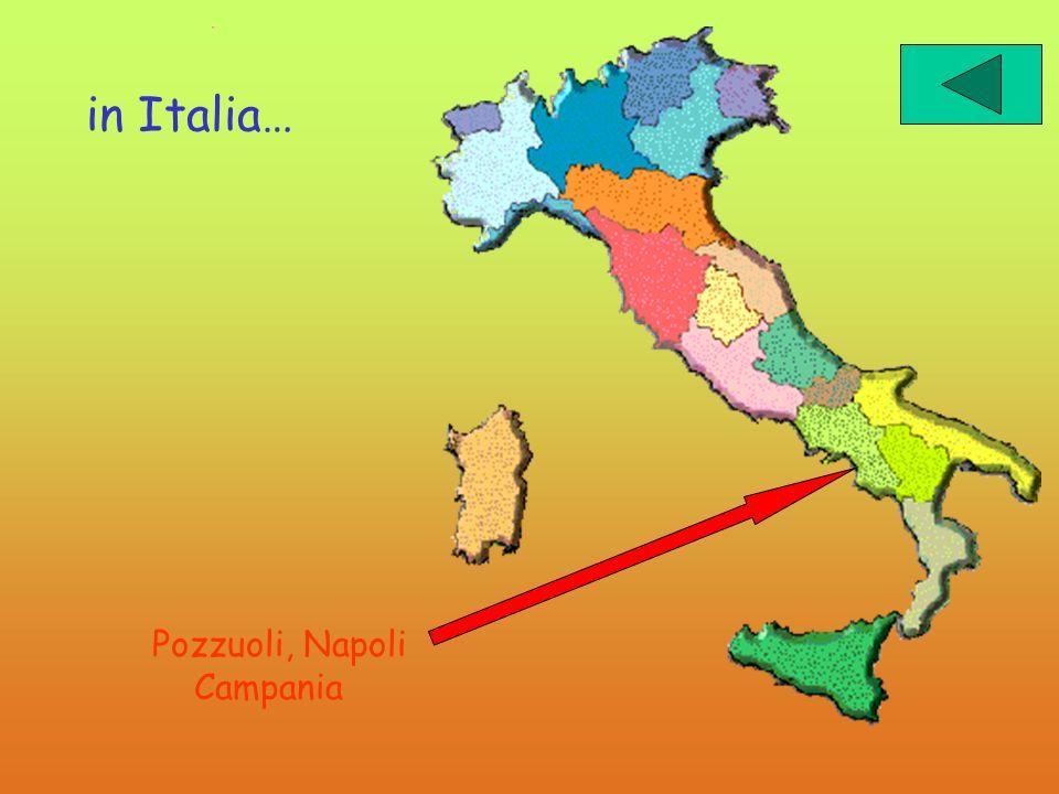 in Italia… Pozzuoli, Napoli Campania