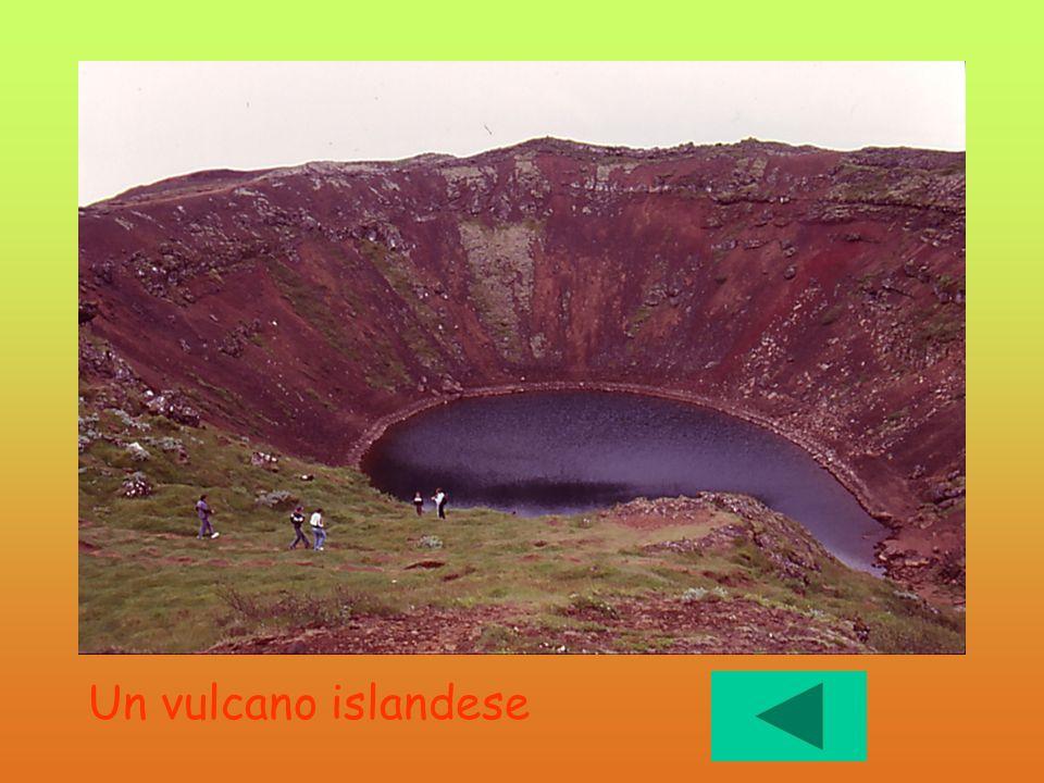 Un vulcano islandese Spento