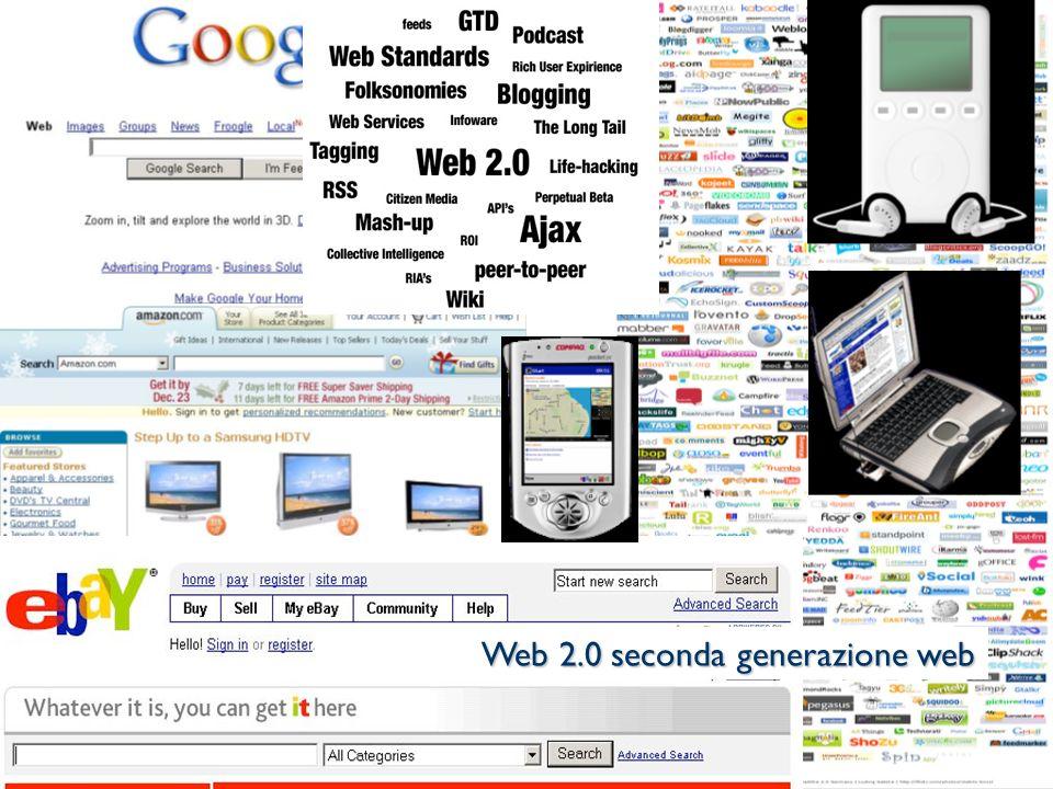 © Patrizia Ghislandi, Università di Trento 7 Web 2.0 seconda generazione web