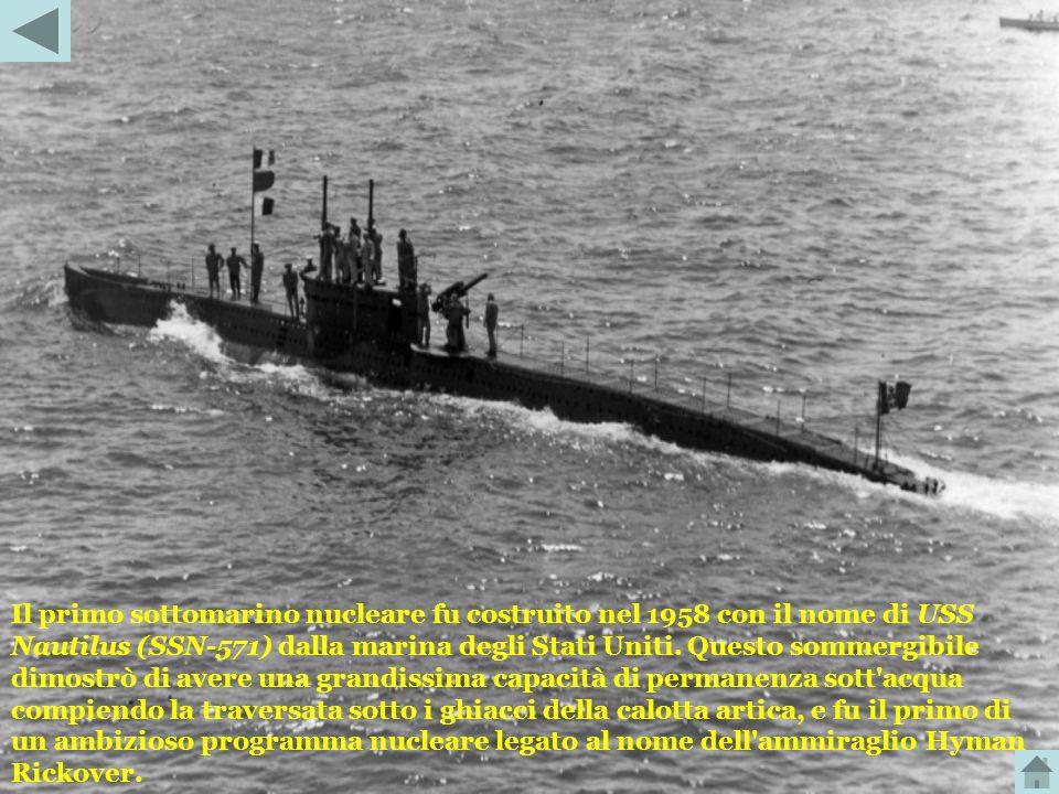 I motori elettrici utilizzati durante l'immersione dai sommergibili, non permettevano una lunga autonomia in quanto ricavavano la loro energia da batt