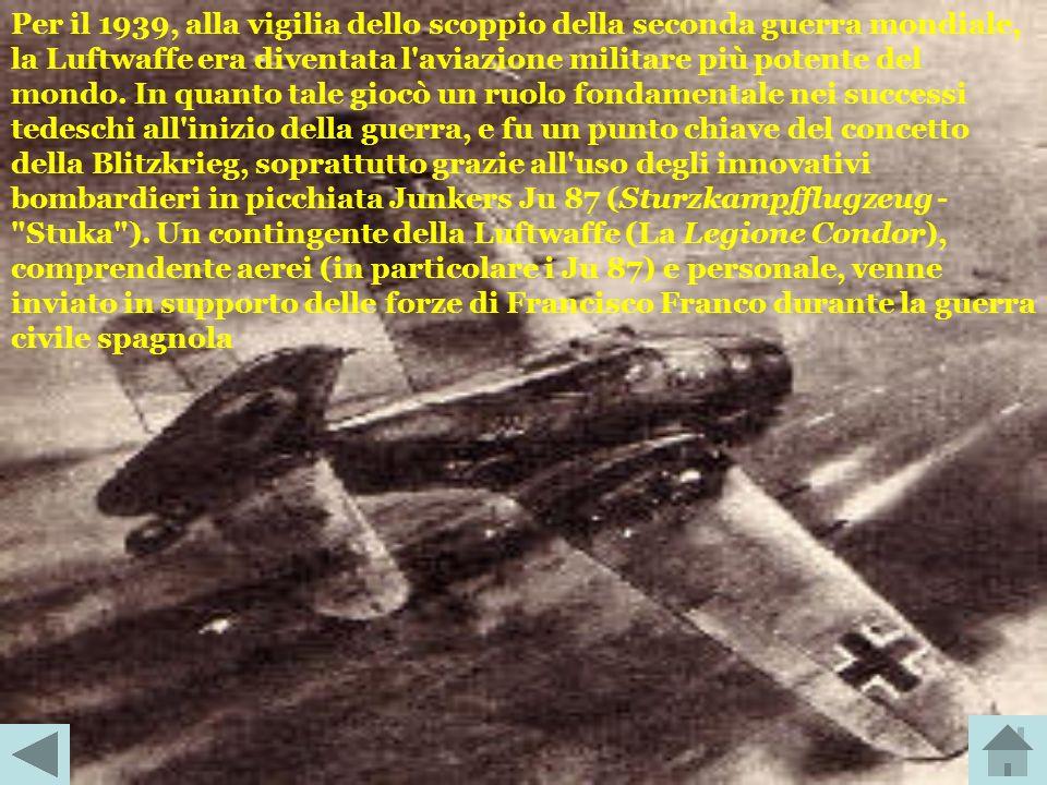 Fondata durante la prima guerra mondiale con l'emergere degli aeroplani militari, venne dissolta dopo la guerra, come parte degli accordi del Trattato