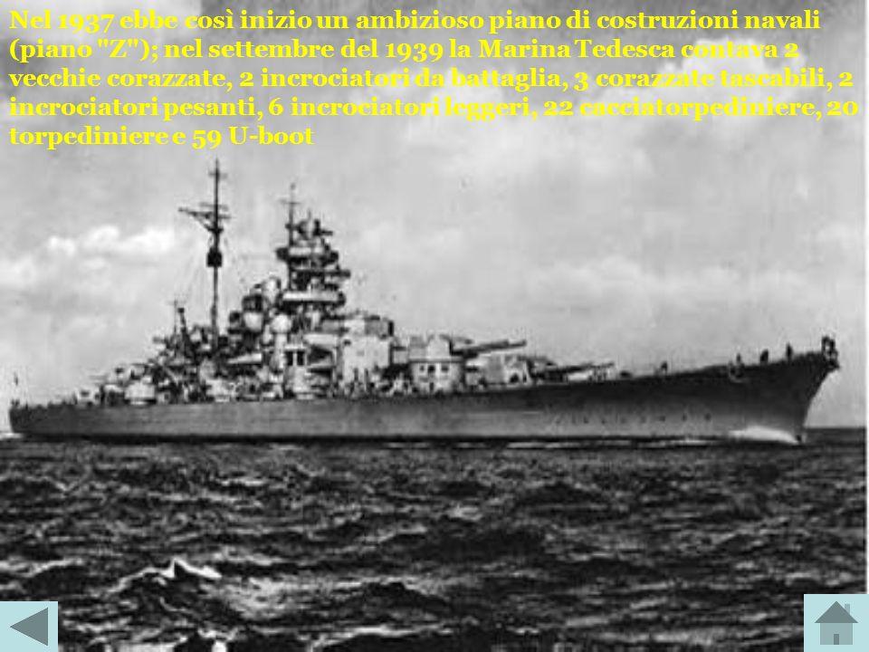 Il Trattato di Versailles aveva imposto rigorosi limiti alla marina tedesca e le aveva proibito la progettazione e realizzazione di sommergibili, port