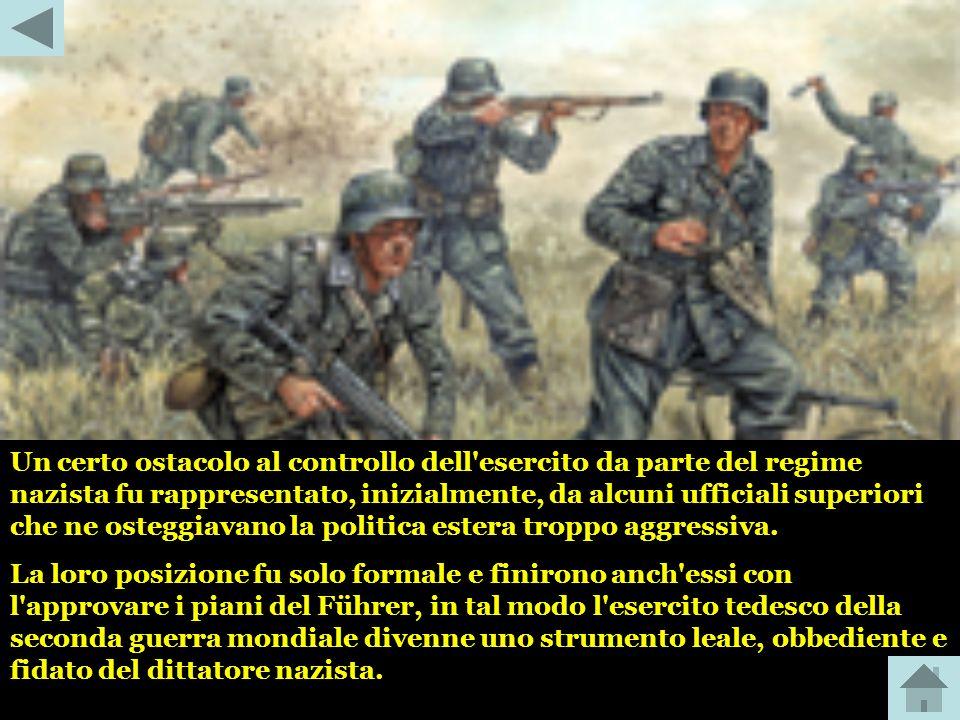 Per quanto l'esercito tedesco potesse avere lacune quantitative e qualitative di attrezzature, gli uomini che lo costituivano erano i migliori. Il tra