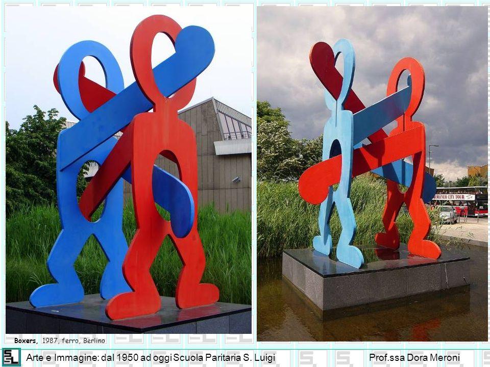 Arte e Immagine: dal 1950 ad oggiScuola Paritaria S. LuigiProf.ssa Dora Meroni Boxers, 1987, ferro, Berlino