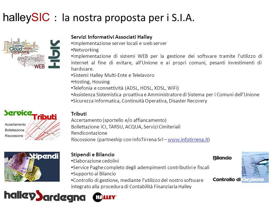 halleySIC : la nostra proposta per i S.I.A.