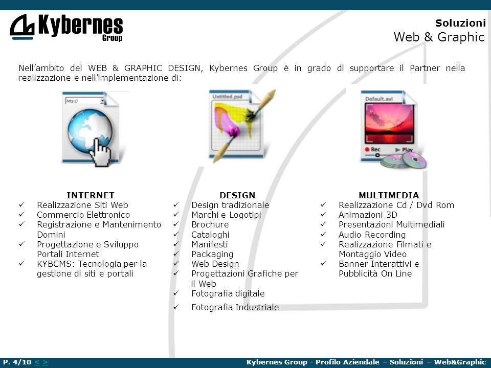 Soluzioni Web & Graphic Nellambito del WEB & GRAPHIC DESIGN, Kybernes Group è in grado di supportare il Partner nella realizzazione e nellimplementazi