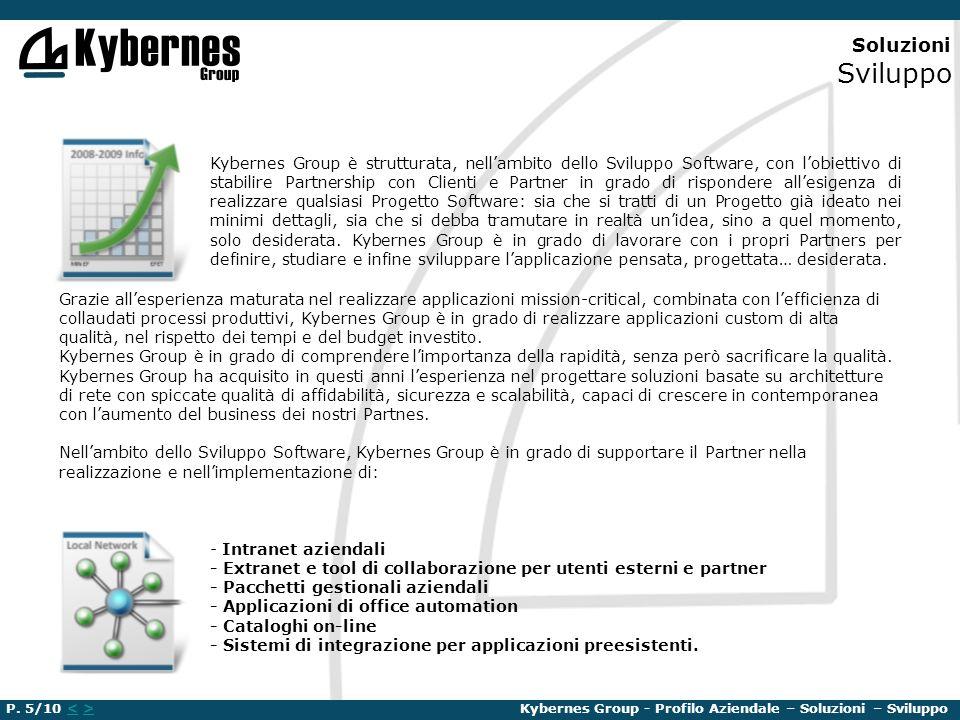 Soluzioni Sviluppo Kybernes Group è strutturata, nellambito dello Sviluppo Software, con lobiettivo di stabilire Partnership con Clienti e Partner in