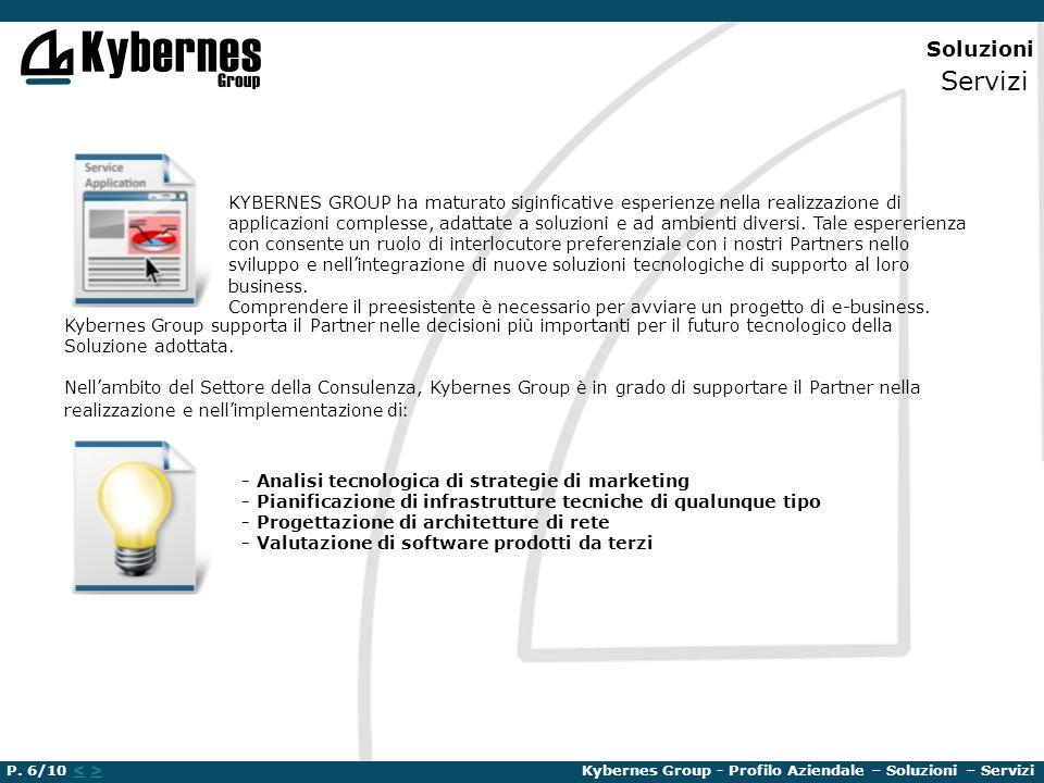 Soluzioni Servizi KYBERNES GROUP ha maturato siginficative esperienze nella realizzazione di applicazioni complesse, adattate a soluzioni e ad ambient