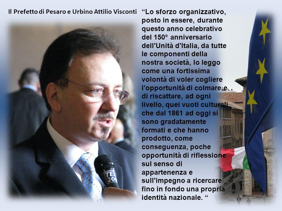 Lo sforzo organizzativo, posto in essere, durante questo anno celebrativo del 150° anniversario dell'Unità d'Italia, da tutte le componenti della nost