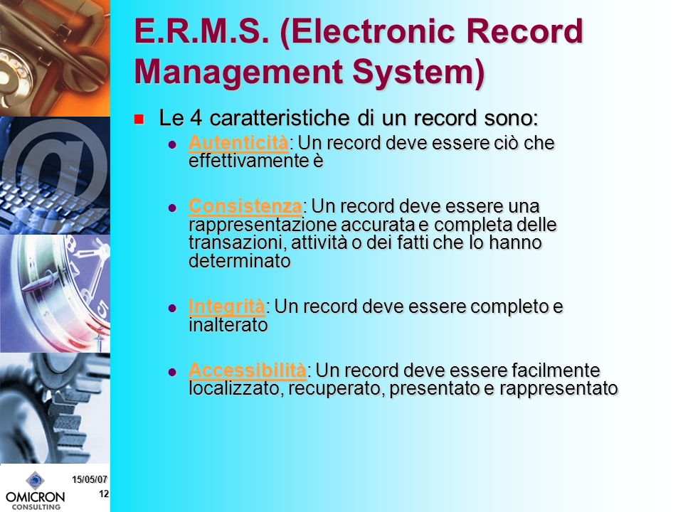 12 15/05/07 E.R.M.S.