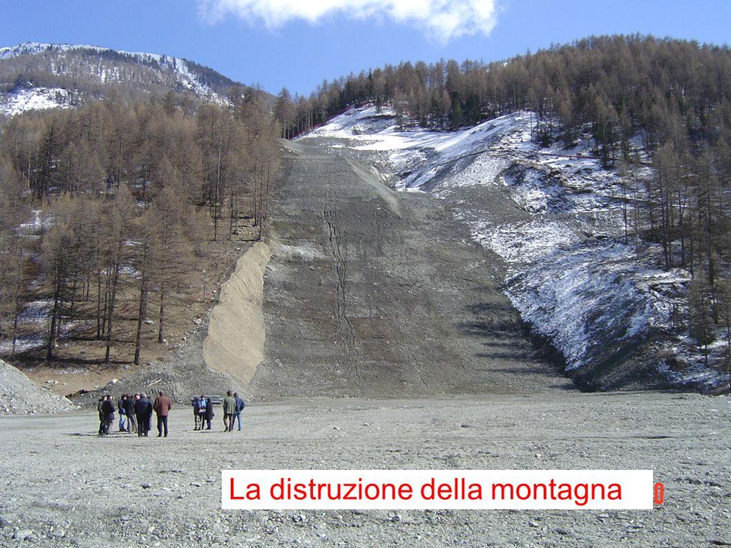 La distruzione della montagna