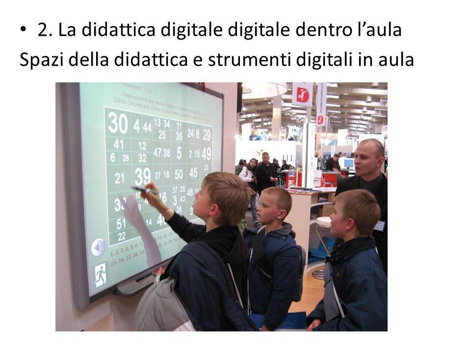 2. La didattica digitale digitale dentro laula Spazi della didattica e strumenti digitali in aula