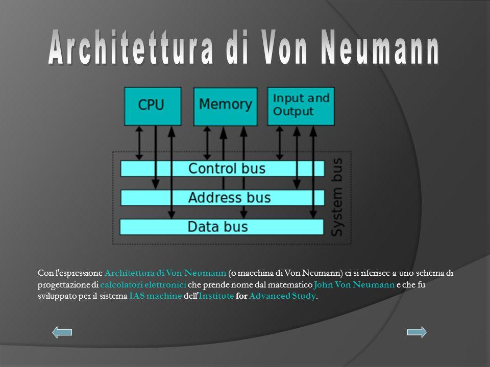 L Unità di Controllo e l unità aritmetica e logica rappresentano i principali componenti dell unità centrale di elaborazione (CPU).
