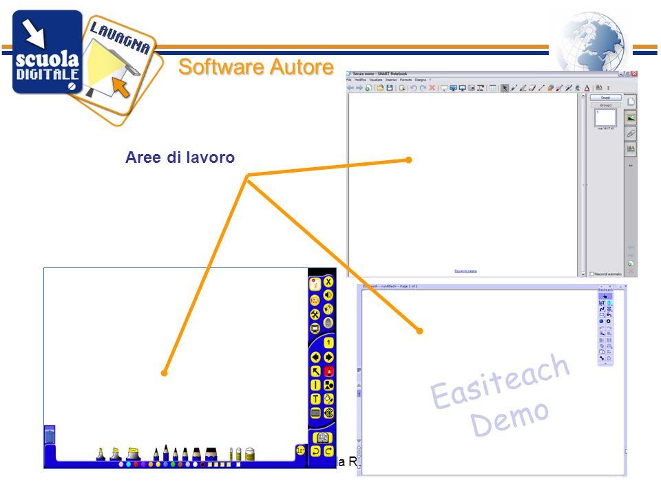 ISIS Bertola Rimini44 Software Autore Aree di lavoro