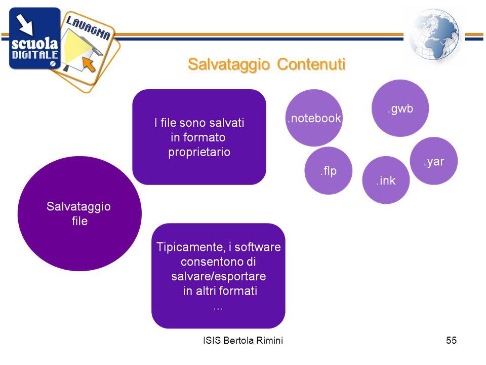 ISIS Bertola Rimini55 Salvataggio Contenuti